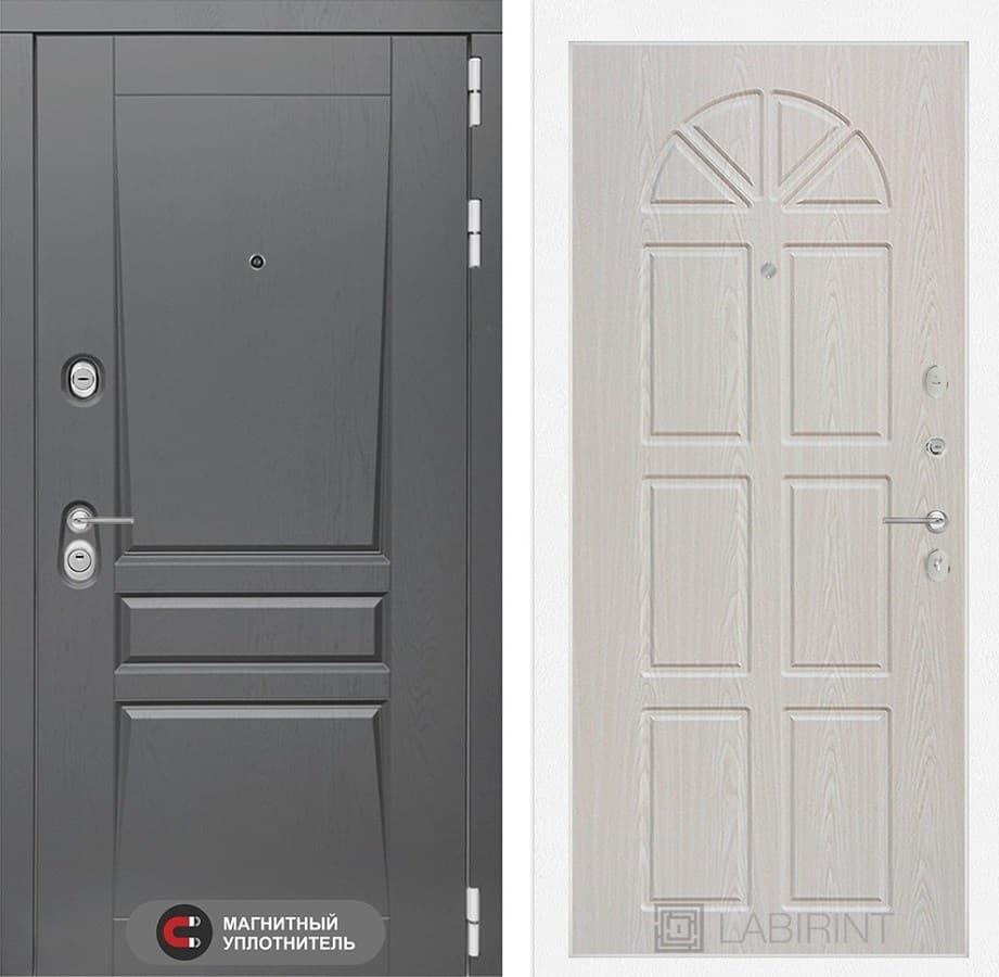 Входная дверь Лабиринт Платинум 15 (Алмон 25) купить в Москве с установкой - Labirint-Dveri.com